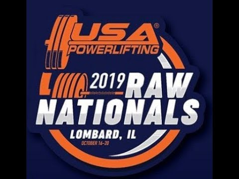 The 2019 USA Powerlifting Raw Nationals Competition, General Information
