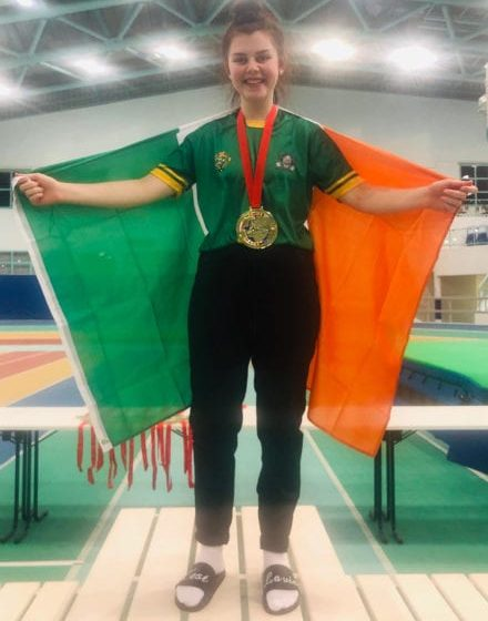 15-year-old Byrne creates world powerlifting history