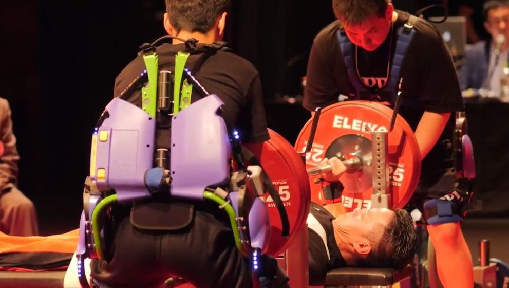 World Para Powerlifting to Use Panasonic's Power Assist Suit