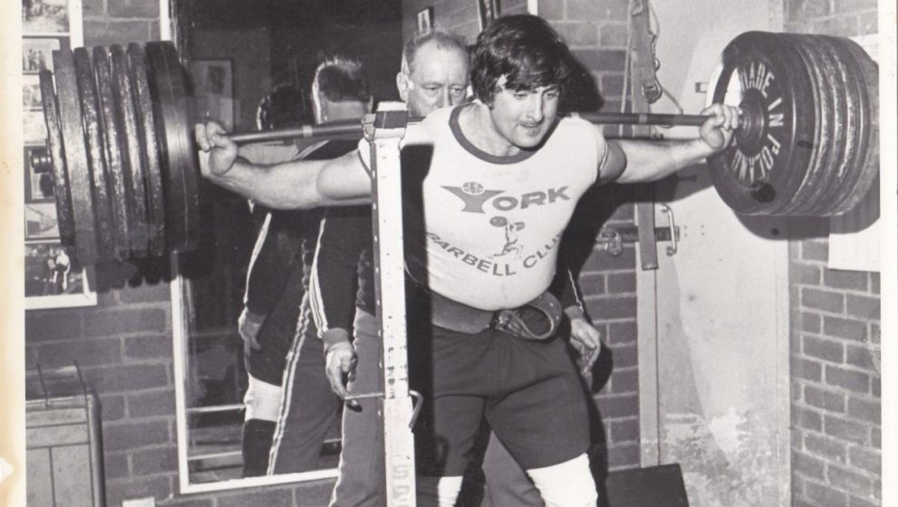 The history of powerlifting